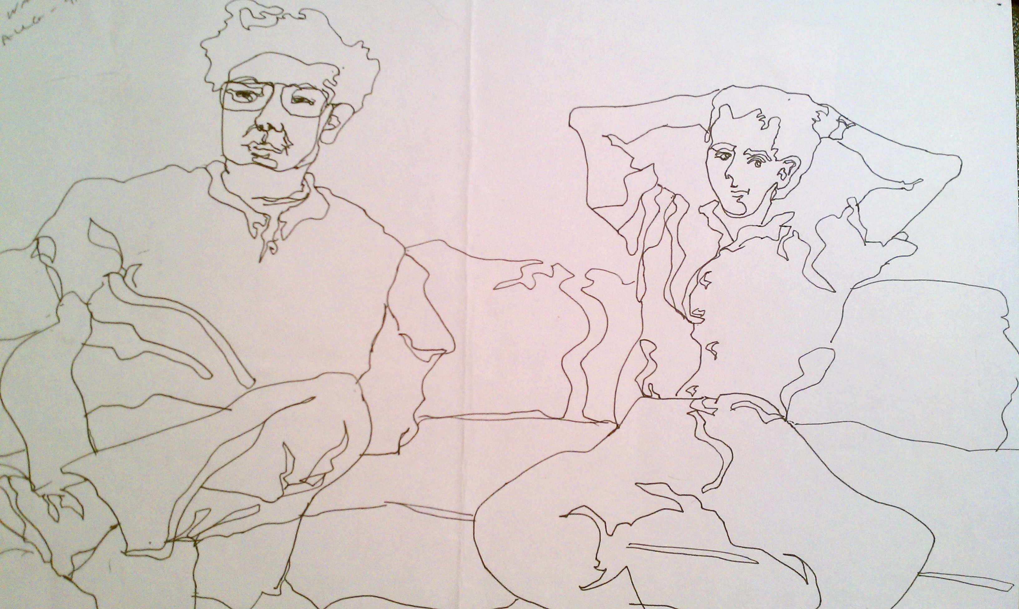 Contour Line Drawing In Art : Hcmsart week th period artist of the